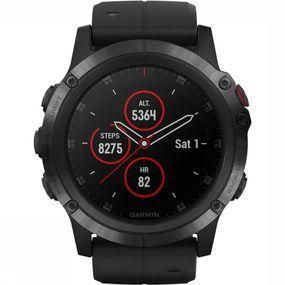 Garmin Garmin Fenix 5X Plus Sapphire Horloge Zwart