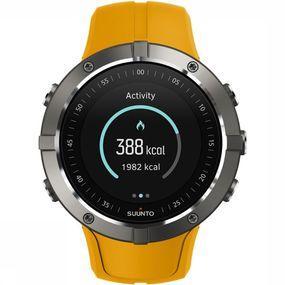 Suunto Spartan Trainer Wrist HR Horloge Oranje