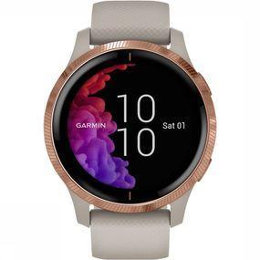 Garmin Venu GPS-Smartwatch Zandbruin/Goud
