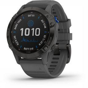 Garmin Fenix 6 Pro Solar GPS Horloge Zwart