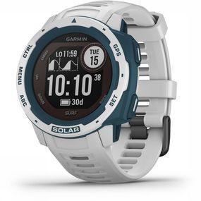 Garmin Instinct Solar GPS Horloge Wit/Petrol