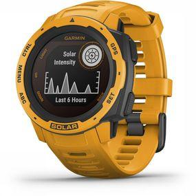 Garmin Instinct Solar GPS Horloge Geel