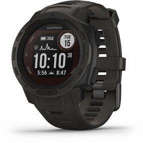 Garmin Instinct Solar GPS Horloge Middengrijs
