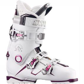 Salomon Quest Pro 80 Skischoen Dames Wit/Middenroze