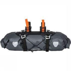 Ortlieb Handlebar-Pack Fietstas 15L Donkergrijs/Oranje