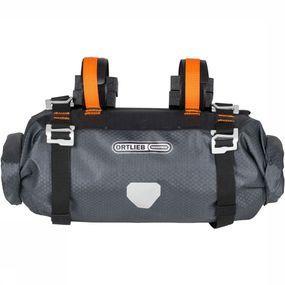 Ortlieb Handlebar-Pack S 9L Stuurtas Donkergrijs/Oranje