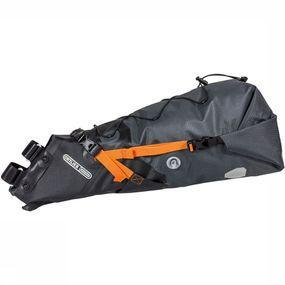 Ortlieb Seat-Pack Fietstas 8 - 16L Donkergrijs/Oranje