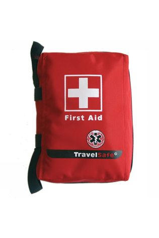 Travelsafe First Aid Bag Leeg Rood