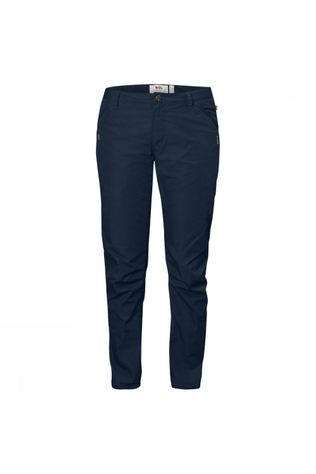 Fjällräven High Coast Broek Regular Dames Marineblauw