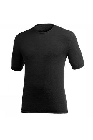 Woolpower Tee 200 Baselayer Unisex  Zwart