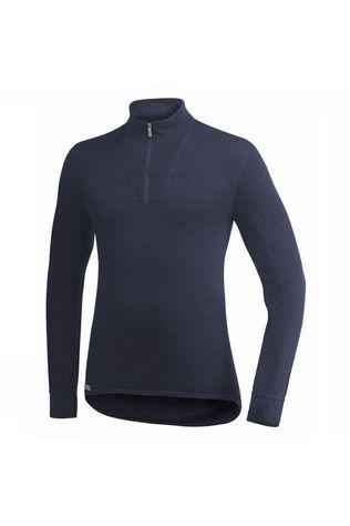 Woolpower Zip Turtleneck 200 Shirt  Donkerblauw