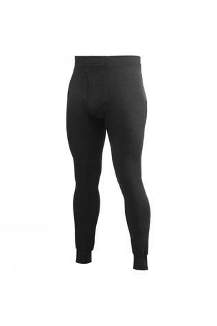 Woolpower Long Johns With Fly 200 Zwart