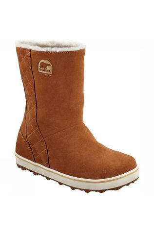 Sorel Glacy Winterlaars Dames Middenbruin