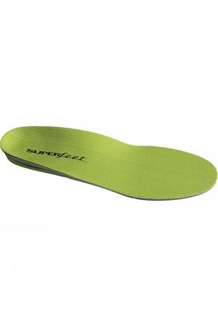 Superfeet Performance Green Inlegzool Groen