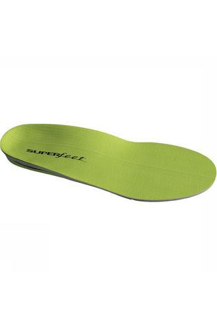 Superfeet Inlegzool Wide Green Groen