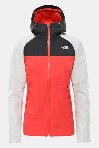 The North Face Stratos Jas Dames Donkerrood/Lichtgrijs