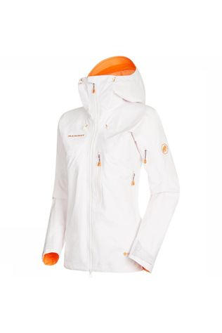 Mammut Nordwand Pro HS Hooded Jas Dames Wit