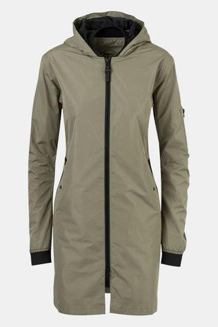 AGU Urban Outdoor Long Bomber Jas Dames Lichtgroen
