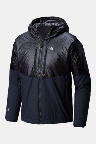 Mountain Hardwear Kor Strata Alpine Hooded Jas Zwart