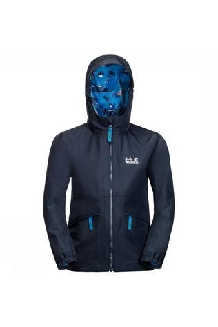 Jack Wolfskin Hidden Falls Jacket Junior Donkerblauw
