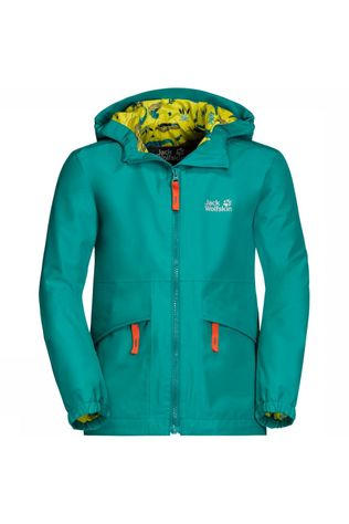 Jack Wolfskin Hidden Falls Jacket Junior Middengroen
