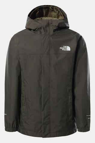 The North Face Resolve Reflective Regenjas Kids Middenkaki