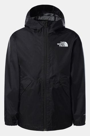 The North Face Zipline Rain Jacket Kids Zwart