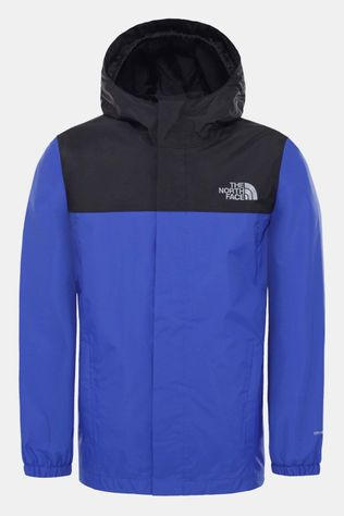 The North Face Resolve Regenjas Junior Koningsblauw/Zwart