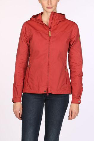Fjällräven Stina Jas Dames Donkerrood/Middenrood