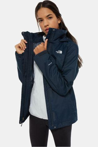 The North Face Evolve II Triclimate Jas Dames Marineblauw/Lichtgrijs