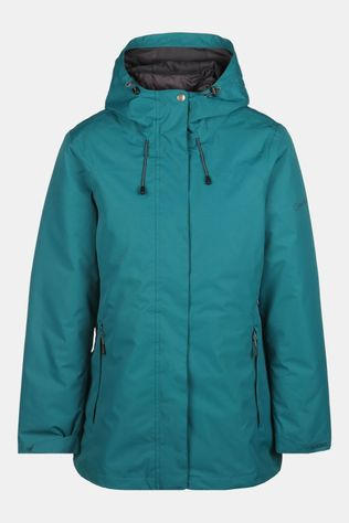 Our Planet Cambrium Jacket 3-In-1 met Kunstvezel Jas Dames Donkergroen