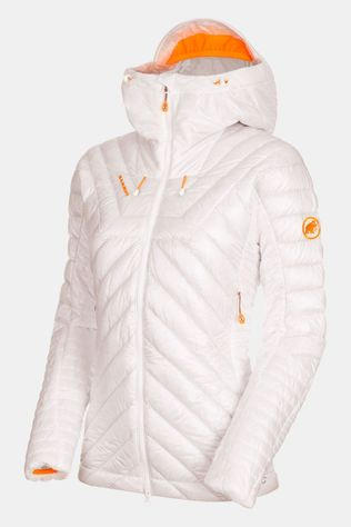 Mammut Eigerjoch Advanced In Hooded Jas Dames Wit