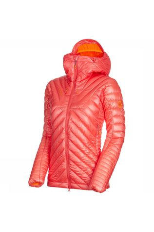 Mammut Eigerjoch Advanced In Hooded Jas Dames Lichtrood