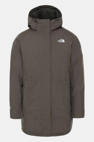 The North Face Brooklyn Parka Dames Taupe