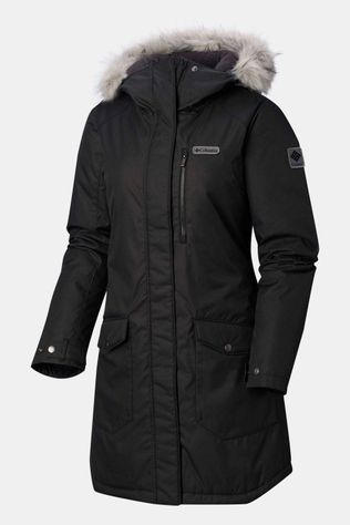Columbia Suttle Mountain Long Insulated Jas Dames Zwart