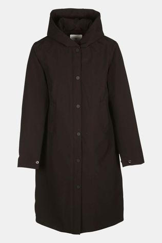 Welter Shelter Not So Long Tube Polyrayon Parka Dames Zwart