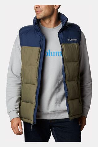 Columbia Pike Lake Bodywarmer Middenkaki/Donkerblauw
