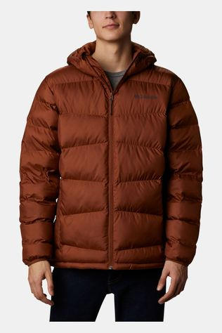 Columbia Fivemile Butte Hooded Kunstvezel Isolatiejas Bruin