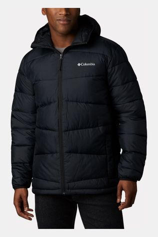Columbia Fivemile Butte Hooded Kunstvezel Isolatiejas Zwart