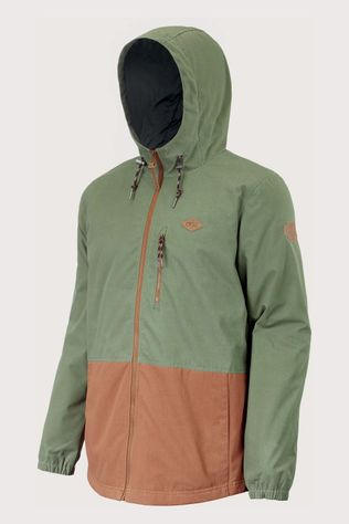 Picture Organic Clothing Surface Insulated Jas Middenkaki/Lichtbruin