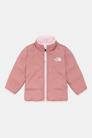 The North Face Reversible Andes Baby Jas Junior Lichtroze