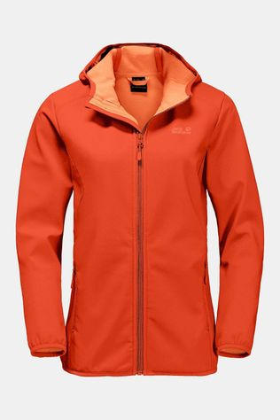 Jack Wolfskin Northern Point Softshell Dames Oranje