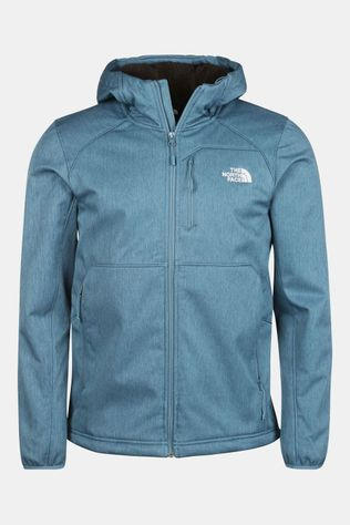 The North Face Quest Softshell Jas Blauw/Donkerblauw