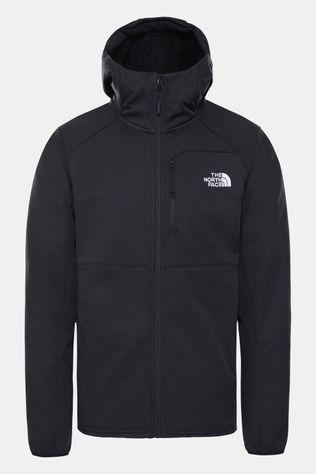 The North Face Quest Softshell Jas Zwart/Donkergrijs