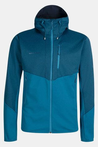 Mammut Ultimate VI So Hooded Jas Blauw/Middenblauw