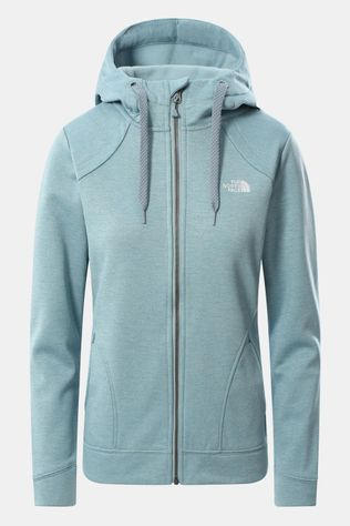 The North Face Kutum Full Zip Hoodie Vest Dames Blauw/Mengeling
