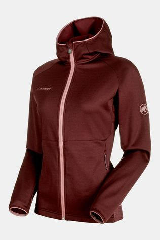 Mammut Get Away ML Hooded Jas Dames Bordeaux