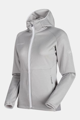 Mammut Get Away ML Hooded Jas Dames Lichtgrijs Mengeling