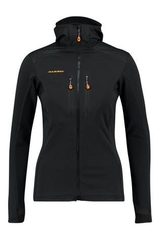 Mammut Eiswand Advanced MI Hooded Vest Dames Zwart
