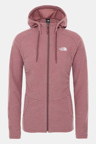 The North Face Mezzaluna Full Zip Hoodie Dames Zalmroze